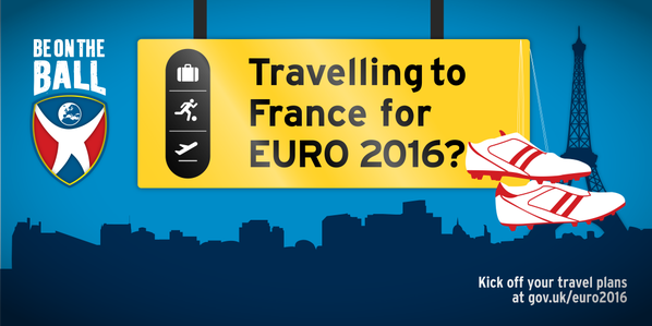 Travelling to France for Euro 2016?